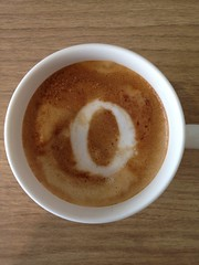 Today's latte, Opera.