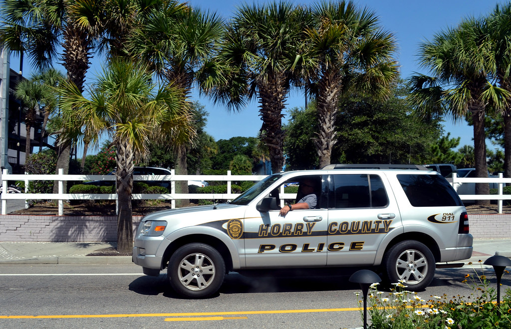 Horry County Police Department Myrtle Beach South Carolina