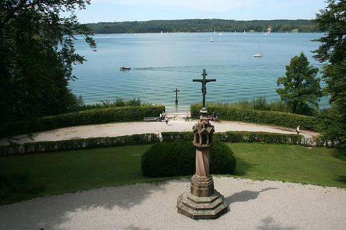 Blick zum Starnberger See