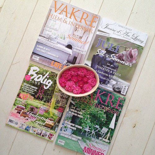 Fabulous Danish and Norwegian magazines. by Of Spring and Summer