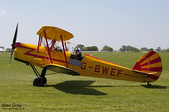 G-BWEF SNCAN STAMPE SV.4C 208 120527 - AeroExpo-Sywell - Alan Gray -IMG_0147