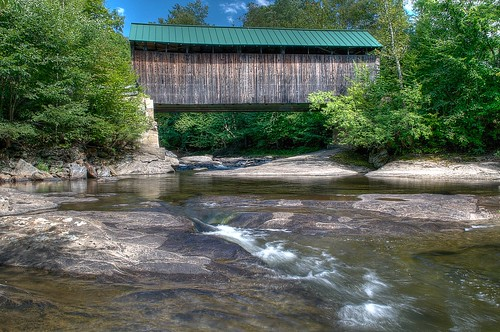 Jaynes Covered Bridge by jcbwalsh