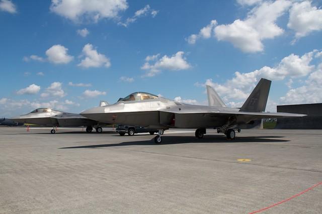 USAF F-22A FF