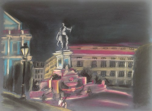 Plaza de Oriente by Lauradlamota