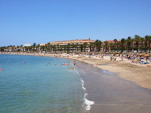 Playa El Camisón, Playa de las Américas, Tenerife