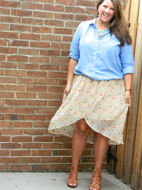 Chambray and Floral