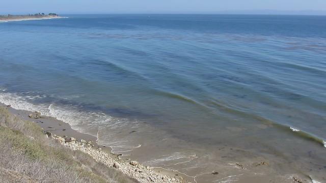 MVI_9311 120729 Sperling bluff view of Ellwood beach to COPR