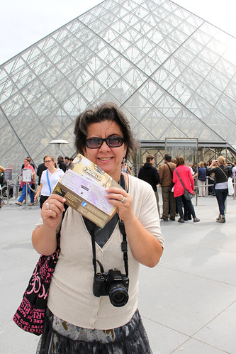Ticket to the Louvre