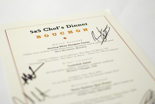 7836311710 b742b4b510 5x5 Chefs Collaborative @ Bouchon (Beverly Hills, CA)