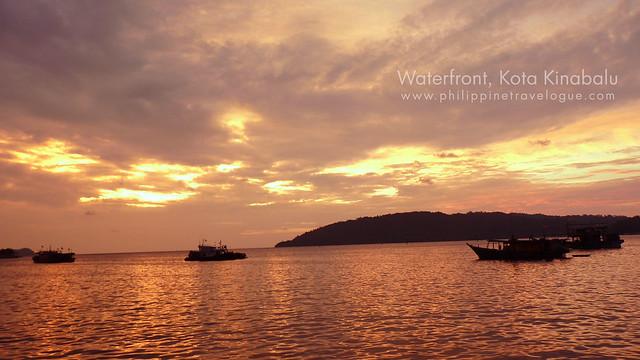 Waterfront in Kota Kinabalu