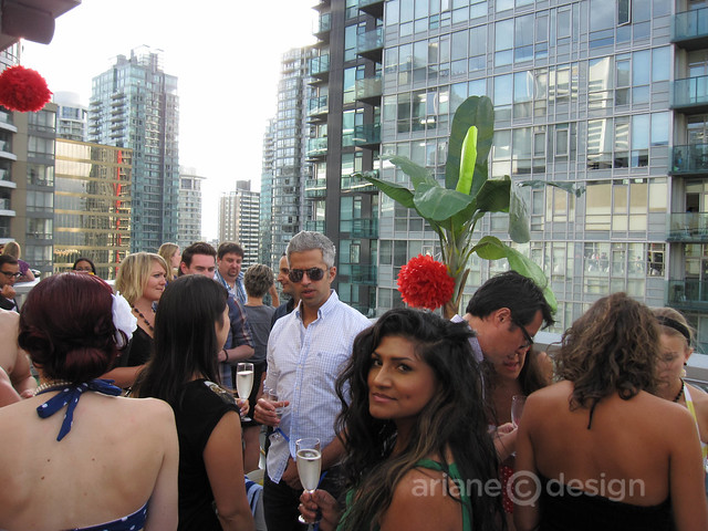 Pool party at loden 39 s halo penthouse vancouverscape for Halo salon vancouver
