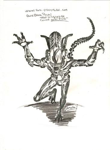 Alien by Giuseppe Lombardi
