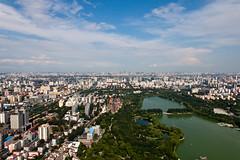 玉渊潭 - Yuyuantan Lake and its surroundings