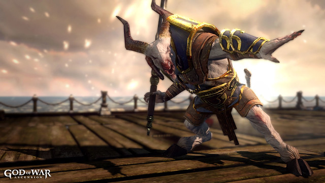 God of War: Ascension: Capitão Bode