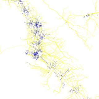 Pedestrian mode share on the way to East Bay BART stations