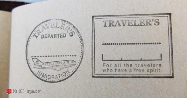 Traveler's stamp