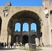 The giant arches of the Basilica of Maxentius and Constantine