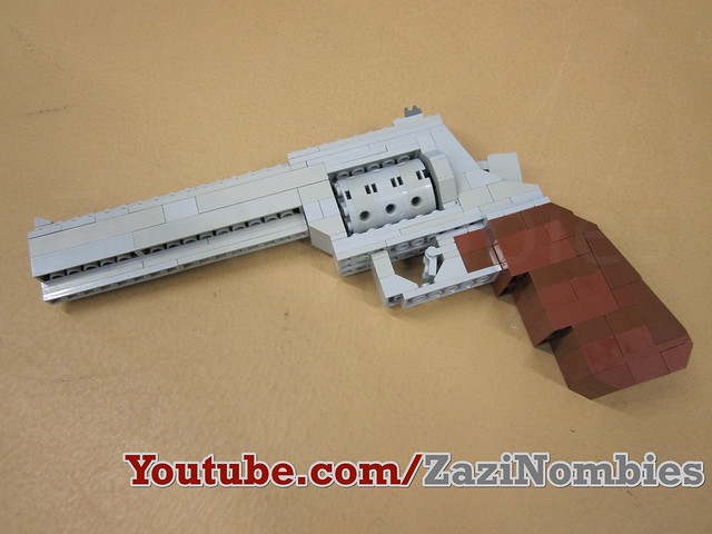 how to make a lego revolver
