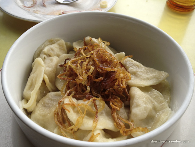 Brighton Beach_Volna restaurant_potato dumplings