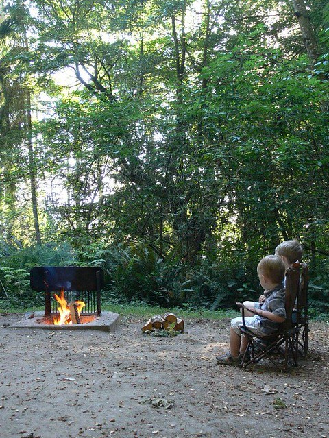 Whidbey Camping Trip