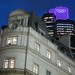 The Olympic logo on Tower 42