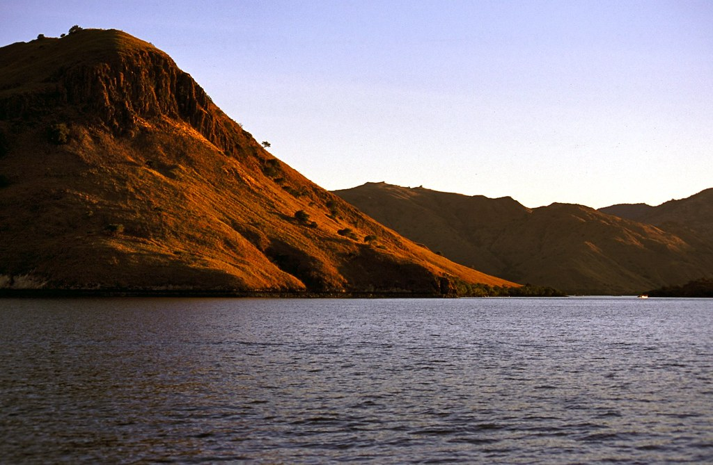 Sunset on Komodo Island