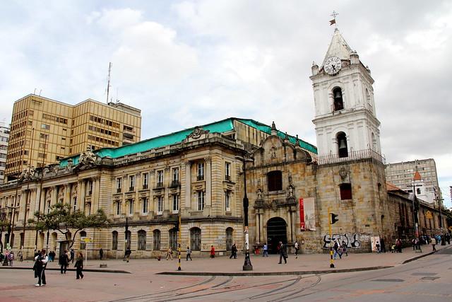 Iglesia y Palacio de San Francisco - Avenida Jiménez, Bogotá