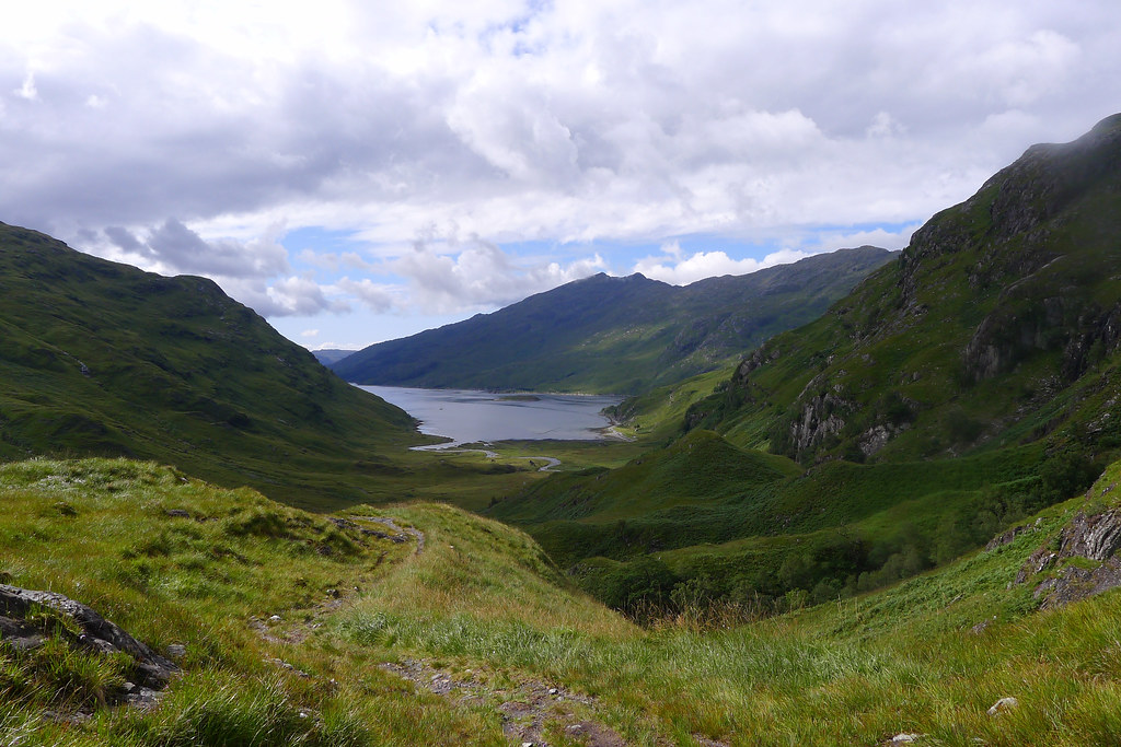The head of Loch Nevis