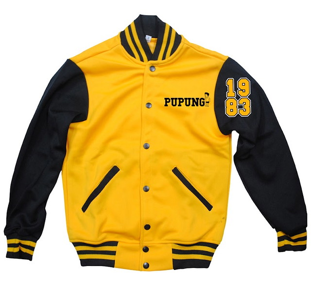 Mens (P1695) and Ladies (P1595) varsity jacket