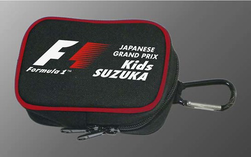F1 Kids公式ロゴ入りポーチ
