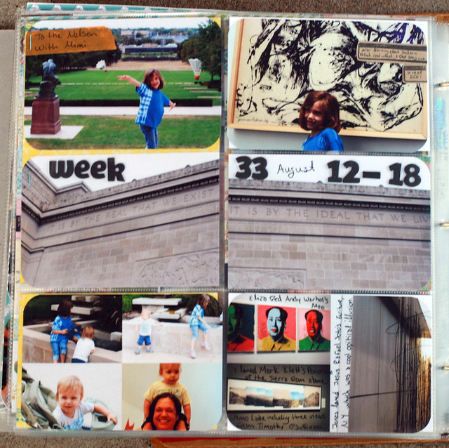 Project Life 2012 | Week 33