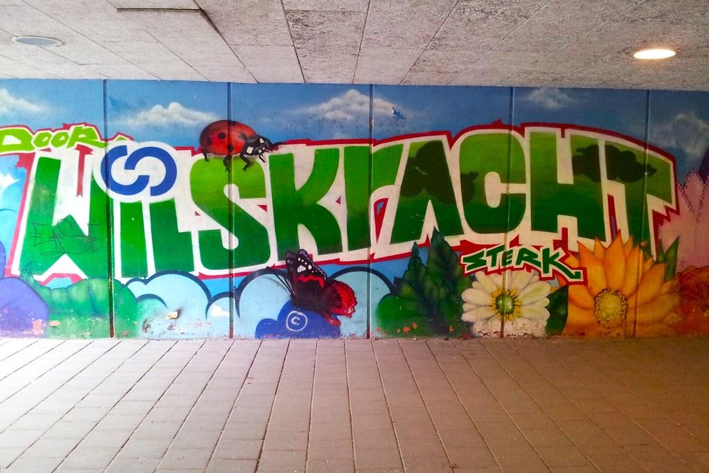 Ja, zo kan graffiti ook zijn