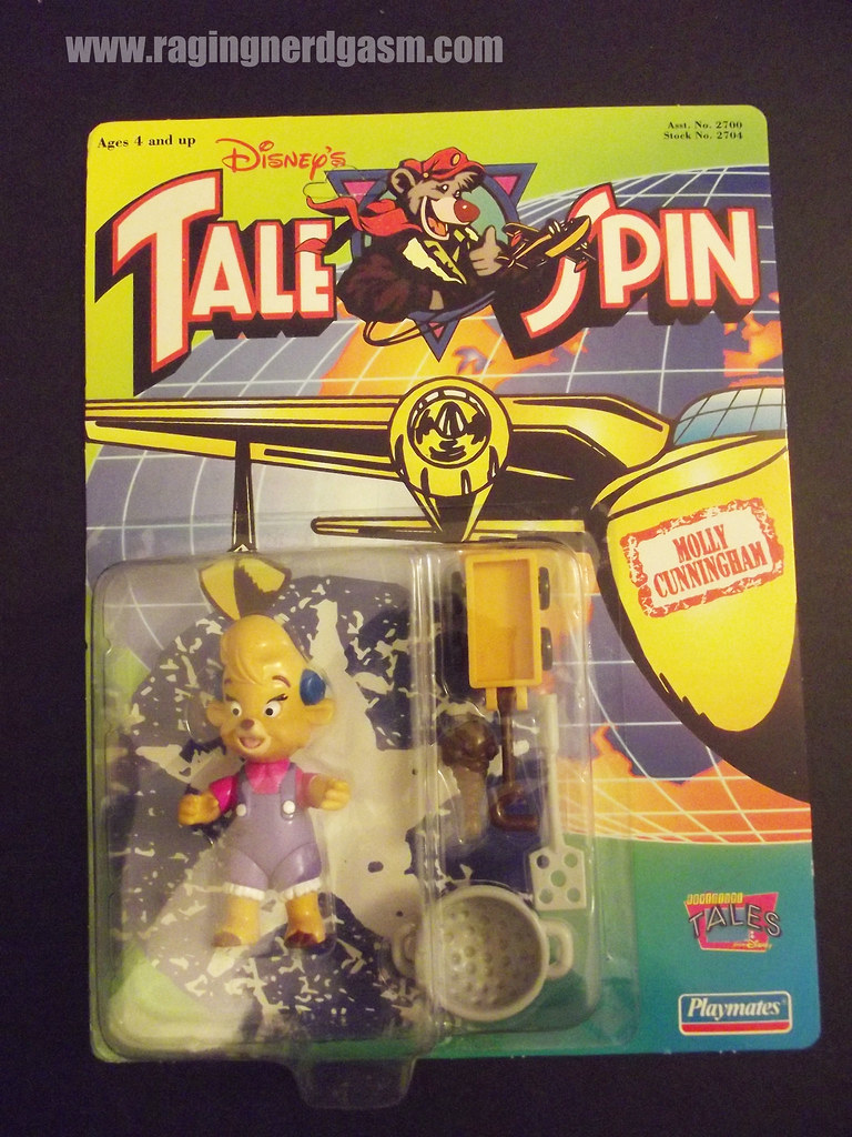 Dysney's Tale Spin Action Figures by Playmates 1991 013