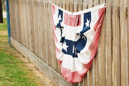 Patriotic fan.