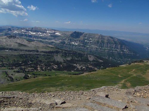 View from Table Mountain, Grand Teton National Park, Wyoming