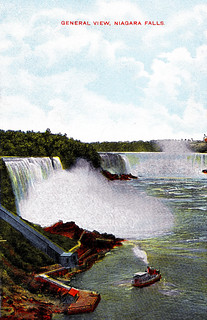 General View, Niagara Falls, New York and Ontario, about 1910