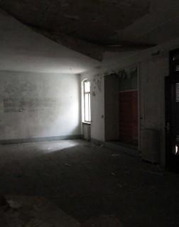 Verfallenes Gebäude von innen