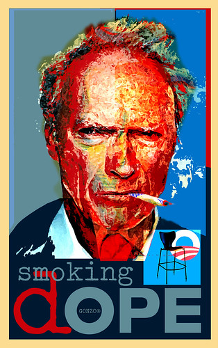 Eastwood Dope Poster GONZO® by Stephen R Mingle /Gonzo®