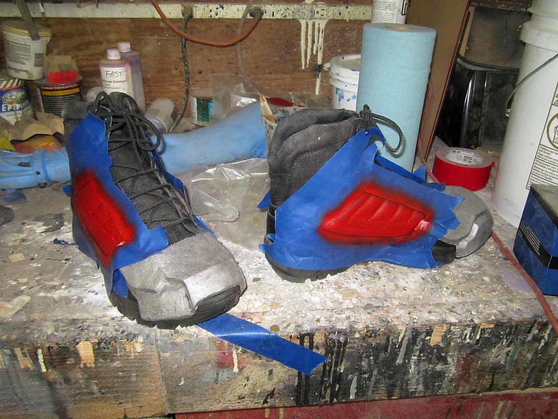 Boot Modifications in Progress
