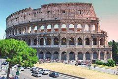 Feel the grandeur of the great amphitheater of the Rome at Colosseum - Things to do in Rome