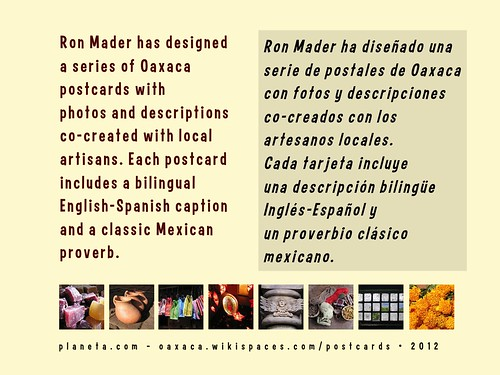 Postcards from Oaxaca Brochure