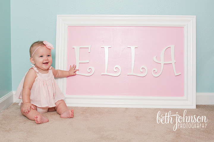 tallahassee florida baby six months photography