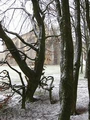 La Commanderie des Templiers sous la neige