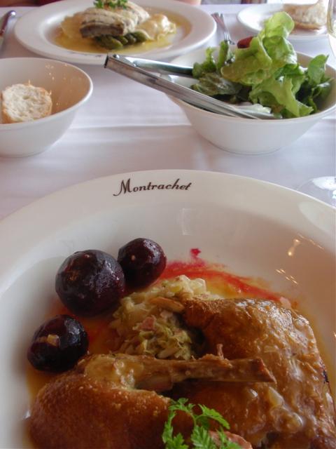 Montrachet dinner