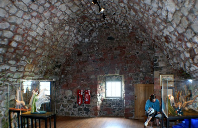 Inside Smailholm Tower, Borders Region
