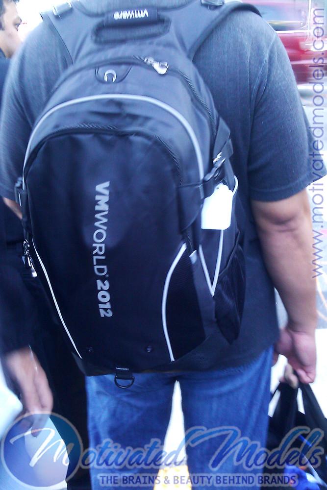 VMWorld backpack, vmworld 2012
