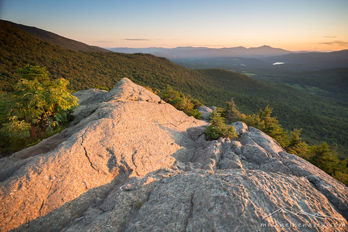 sunset mountains landscape photography vermont stowe