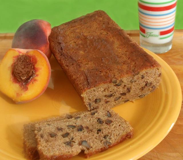 Fresh Peach Bread | Now serving slices of fresh peach bread ...