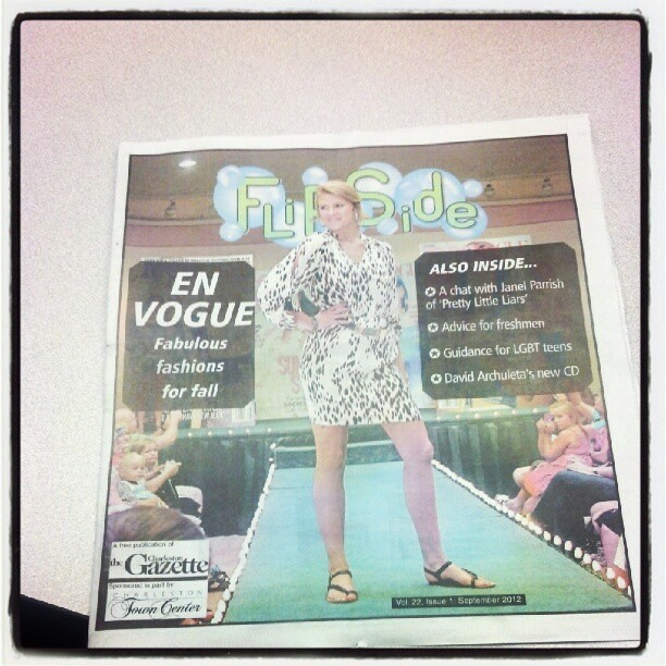 The first issue of FLIPSIDE every year is so lite.