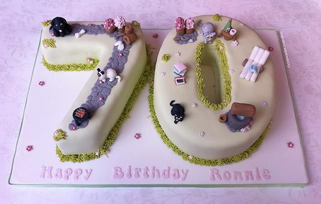 Birthday Cake For Ronnie : Birthday Cake - Ronnie s Secret Garden Flickr - Photo ...